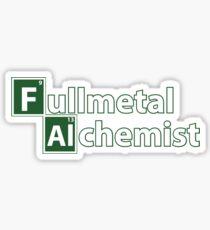 Full Metal Alchemist and Science.  Sticker