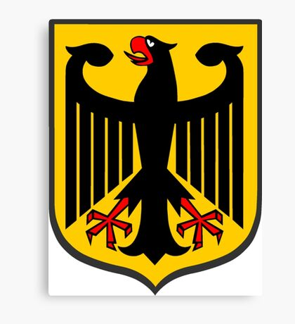 German Coat of Arms Canvas Print