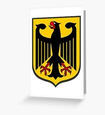 German Coat of Arms Greeting Card