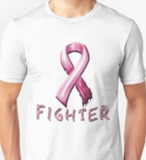 Breast Cancer Fighter Unisex T-Shirt