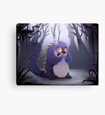 Jeremy the monster Canvas Print