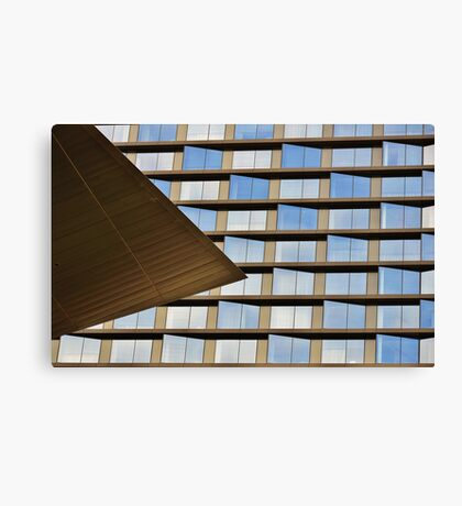 leanings Canvas Print