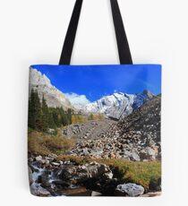 Arethusa creek and peaks II Tote Bag