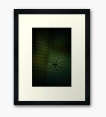 1..2..He's Coming For You... Framed Print