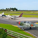 The Flight-line at Tooradin Airport, Victoria, Australia. by johnrf