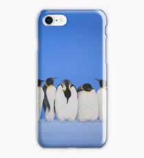 P-P-P-Penguin Line iPhone Case/Skin