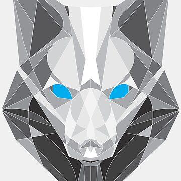 Geometric Fox by areid89
