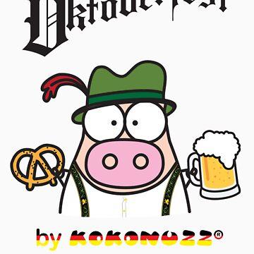 Oktoberfest - KINO, beer and Pretzel! by Kokonuzz