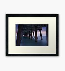 Humid Silence Framed Print
