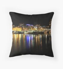 constitution dock  Throw Pillow