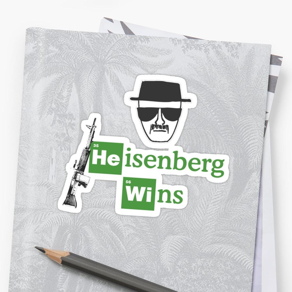 Heisenberg Wins - Breaking Bad  by JohnFlickster