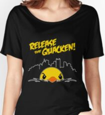 Release The Quacken Women's Relaxed Fit T-Shirt