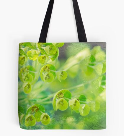 Green is the color of Spring Tote Bag