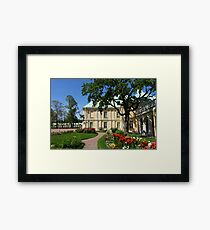 regular garden Framed Print