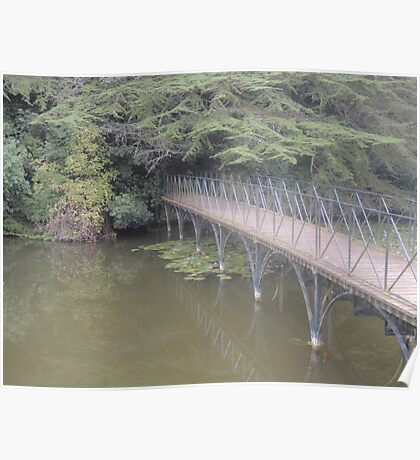 Peaceful Bridge (Blenheim Grounds) Poster