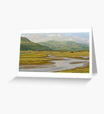 Estuary Run Greeting Card