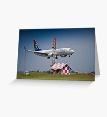 Boeing 737-844 - ZS-SJU Greeting Card