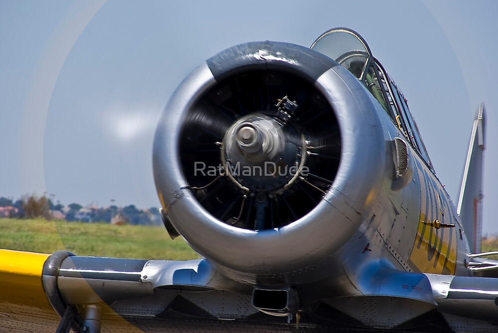 North American AT-6 Harvard — 7072 by RatManDude
