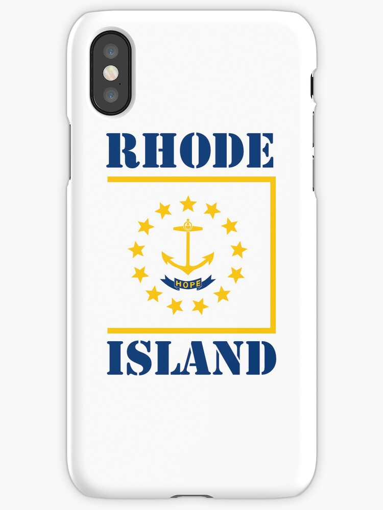 Smartphone Case - State Flag of Rhode Island III by mpodger