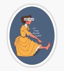 Keep Calm: Jane's Boot Sticker