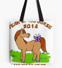 Born Year of The Horse Baby 2014 Tote Bag