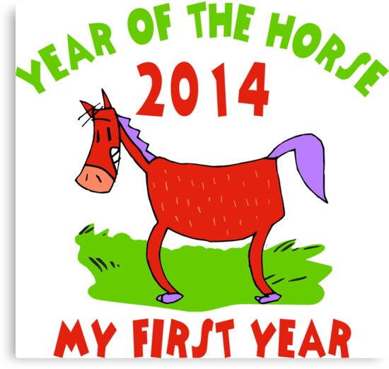 Born Year of The Horse 2014 Baby by ChineseZodiac