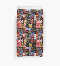 Broadway Collage Duvet Cover