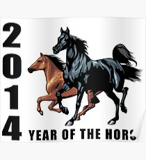 2014 Year of The Horse T-Shirts Gifts Prints Poster