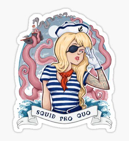 Squid Pro Quo Sticker