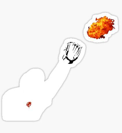 Catching Fire Sticker