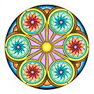Portal Mandala - Card  by TheMandalaLady