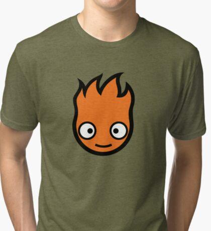 Fire Demon Skateboards Tri-blend T-Shirt