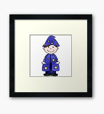 Charlie Wizard Framed Print