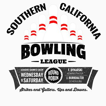 Southern California Bowling League by jabbtees