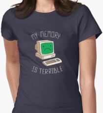 My Memory Is Terrible Women's Fitted T-Shirt