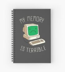 My Memory Is Terrible Spiral Notebook