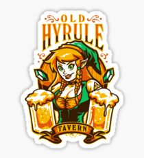 Old Hyrule Tavern Sticker