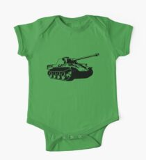 Panther tank One Piece - Short Sleeve