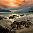 Sunrise Pirates bay, Tasmania  by Robert-Todd