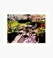 Dal mio giardino Art Print