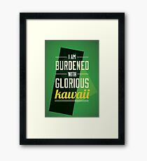Of Asgard Framed Print