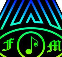 Free Music Sign Sticker