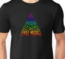 Free Music Sign Unisex T-Shirt