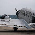 Junkers Ju 52 by palmerphoto