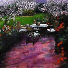 """Nuit dans le jardin by Belinda """"BillyLee"""" NYE (Printmaker)"""