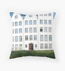 Shophouses, Cologne, Germany Throw Pillow