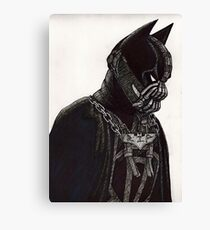 Hero and Villain Mashup Canvas Print