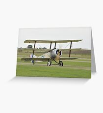 Sopwith Triplane Greeting Card