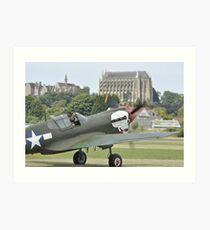 P-40M Kittyhawk G-KITT  Art Print