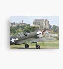 P-40M Kittyhawk G-KITT  Metal Print